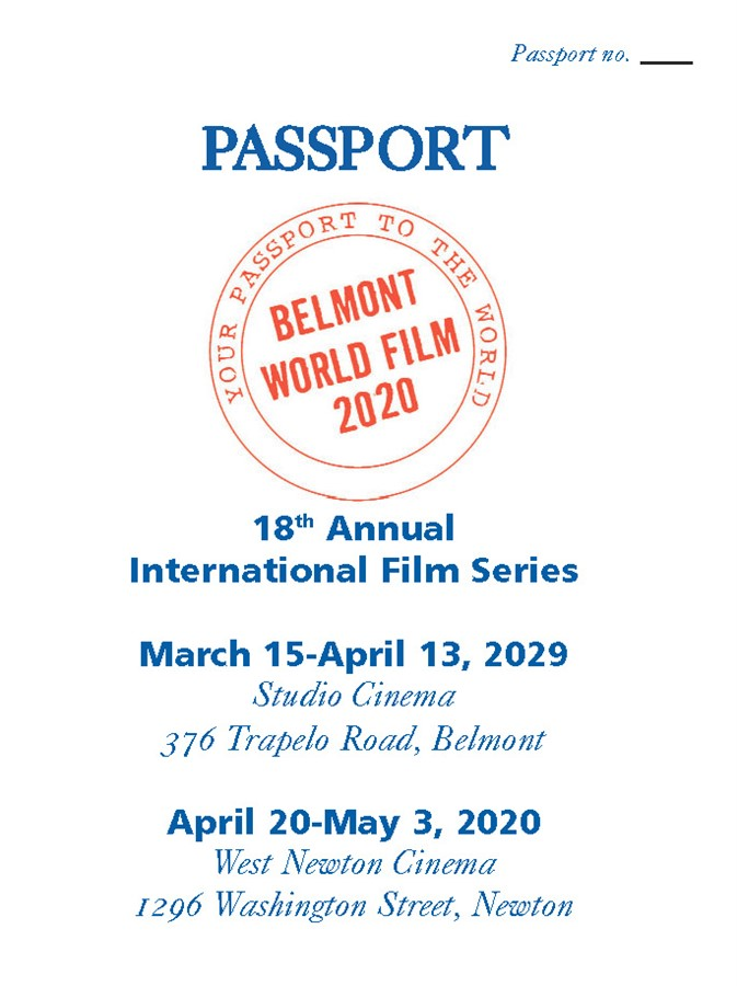 Get Information and buy tickets to Passport Belmont World Film 19th Annual International Film Series on Belmont World Film