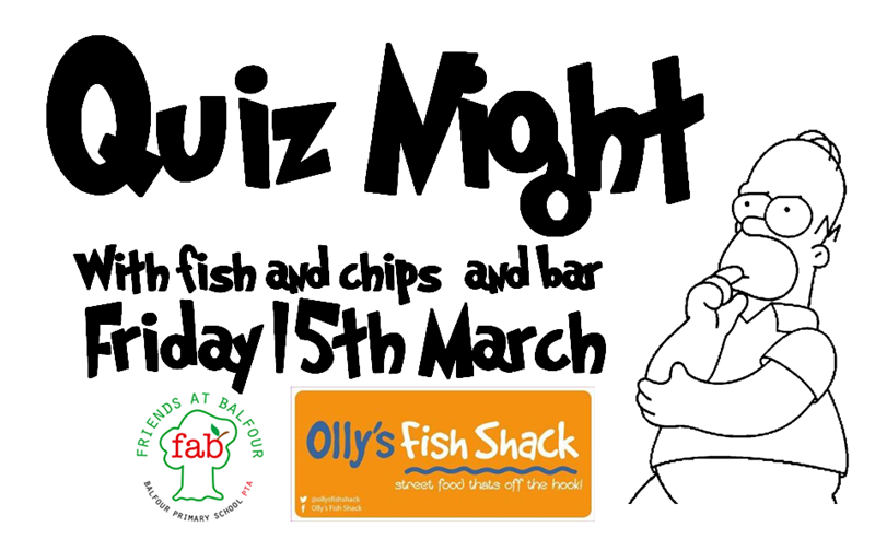 Get Information and buy tickets to Quiz Night  on Friends At Balfour