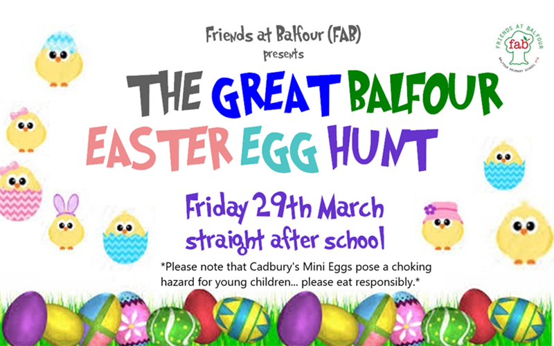 Get Information and buy tickets to Easter Egg Hunt  on Friends At Balfour