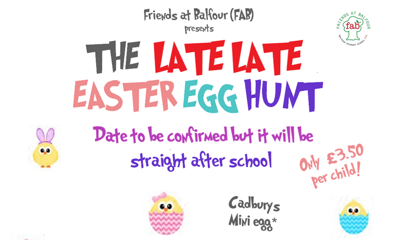 Get Information and buy tickets to Easter Egg Hunt 2020  on Friends At Balfour