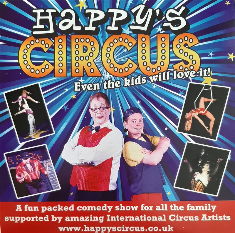 Get Information and buy tickets to Happy Circus 5pm Show Happys Circus is coming to Balfour! on Friends At Balfour