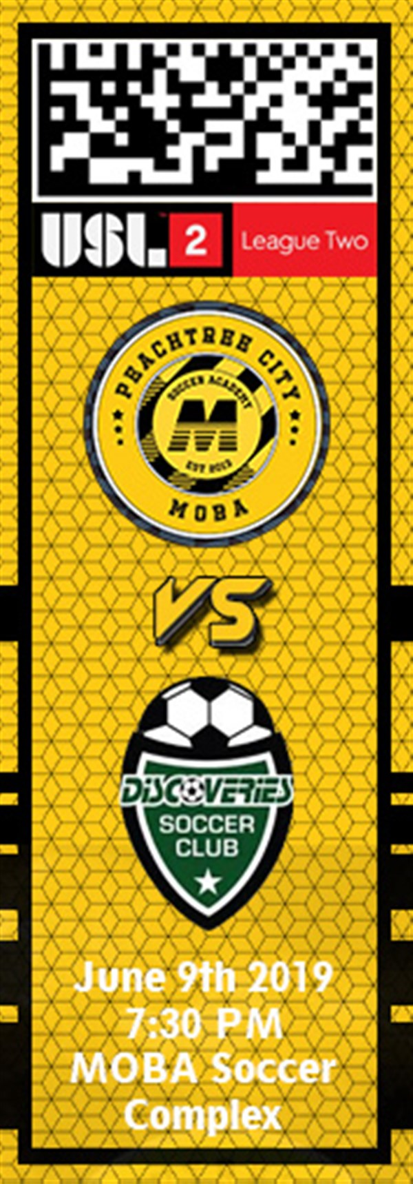 Get Information and buy tickets to PTC MOBA vs. Discoveries USL2 on MOBA Soccer Academy