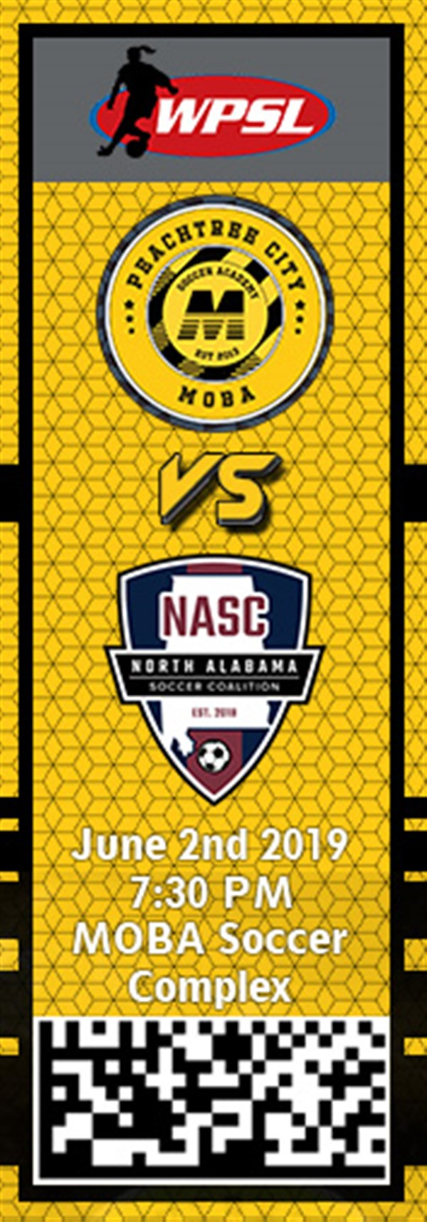 Get Information and buy tickets to PTC MOBA vs. NASC WPSL on MOBA Soccer Academy