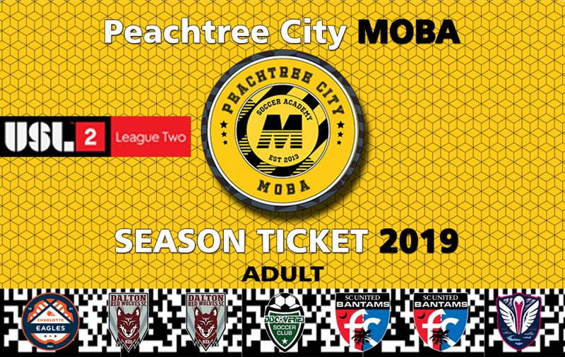 Get Information and buy tickets to USL2 Season Ticket Adult and Youth All 7 Games on MOBA Soccer Academy