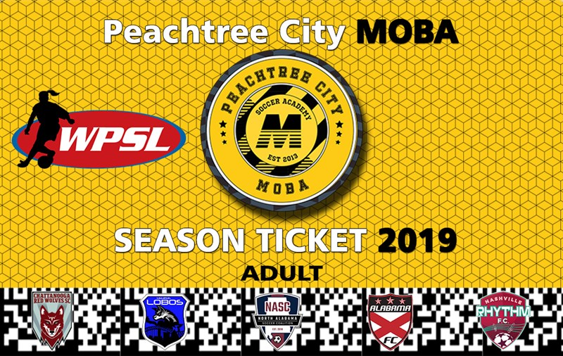 Get Information and buy tickets to WPSL Season Ticket Adult and Youth All 5 Games on MOBA Soccer Academy