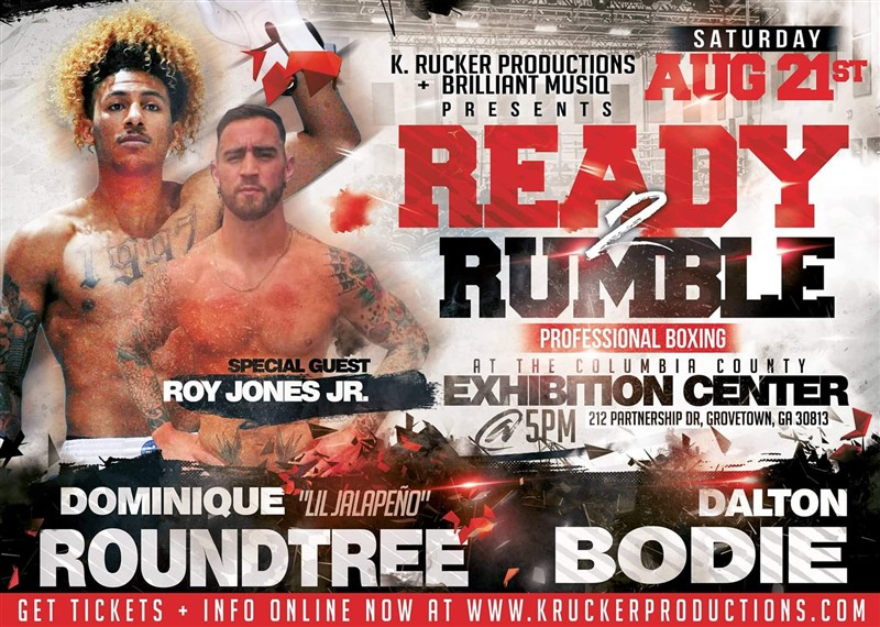 Get Information and buy tickets to Ready 2 Rumble  on K. Rucker Production LLC