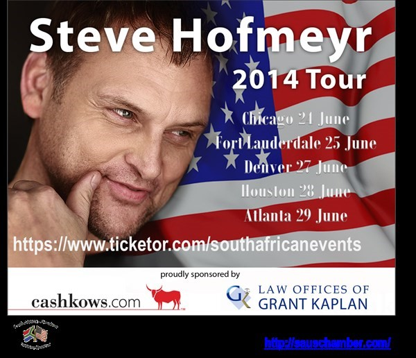Get Information and buy tickets to Steve Hofmeyr in Atlanta 25 Jaar se Beste on South African Events Pty Ltd