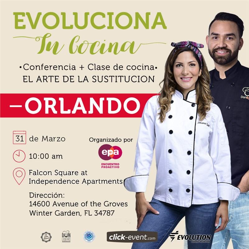 Get Information and buy tickets to Evoluciona tu Cocina Preventa Reg $50 (hasta el 02/21/2019) on www.click-event.com