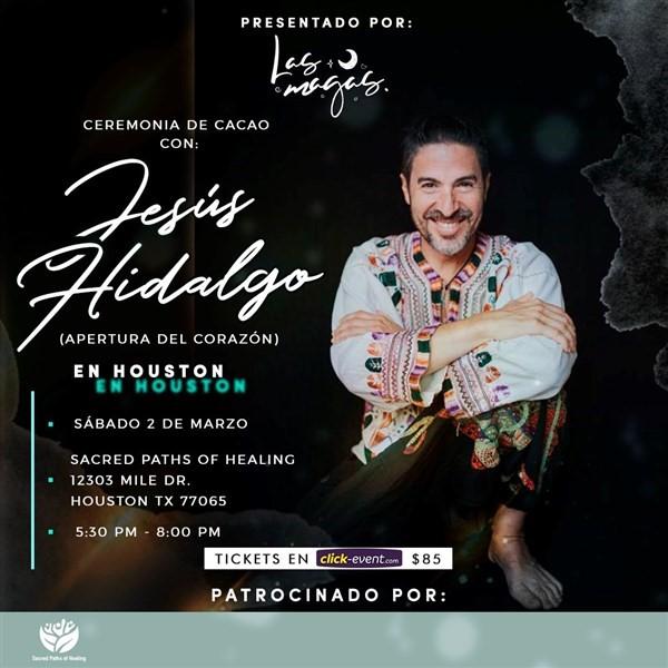 Get Information and buy tickets to Ceremonia de Cacao con Jesús Hidalgo Reg $85 on www.click-event.com