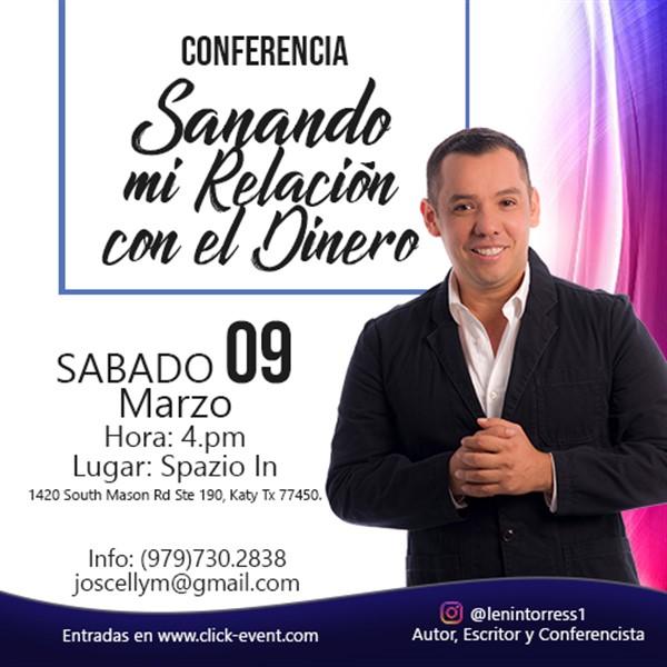 Get Information and buy tickets to Sanando mi Relación con el Dinero Reg $35 on www.click-event.com