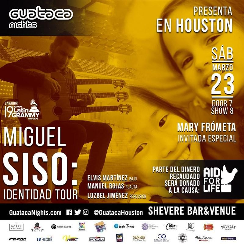 Miguel Siso tour IDENTIDAD. Katy Tx
