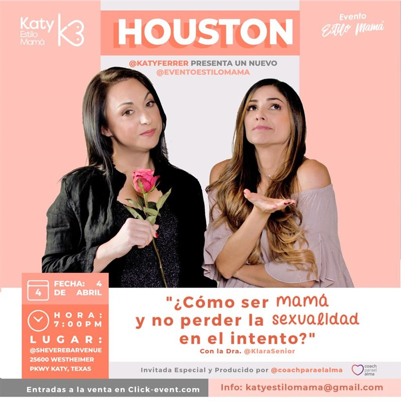 Get Information and buy tickets to Como ser mamá y no perder la sexualidad en el intento Reg $35 - Vip $100 on www.click-event.com
