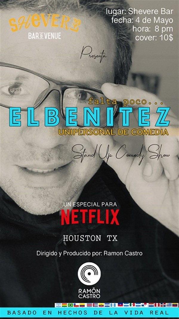 Get Information and buy tickets to Falta Poco Elbenitez Unipersonal de Comedia Reg $10 on www.click-event.com