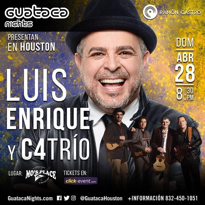 Luis Enrique y C4Trio