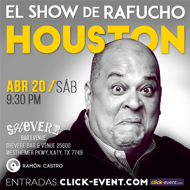 Get Information and buy tickets to El Show de Rafucho Reg $25 - Vip $35 on www.click-event.com