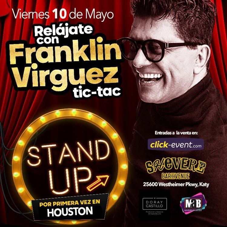 Get Information and buy tickets to Relájate con Frankiln Virguez Reg $35 - Vip $45 on www.click-event.com