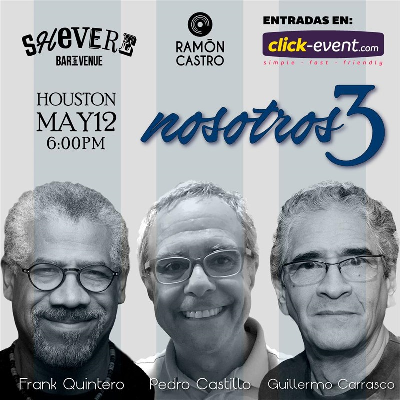 Get Information and buy tickets to Nosotros 3 / Frank Q / Pedro C / Guillermo C Reg $20 - Vip $30 on www.click-event.com