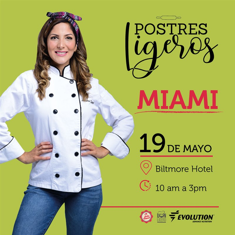 Get Information and buy tickets to Postres Ligeros Reg $150 (hasta Mayo 15) on www.click-event.com