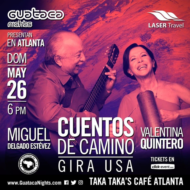 Get Information and buy tickets to Cuentos de Camino - Valentina Quintero - Atlanta Reg $25 on www.click-event.com