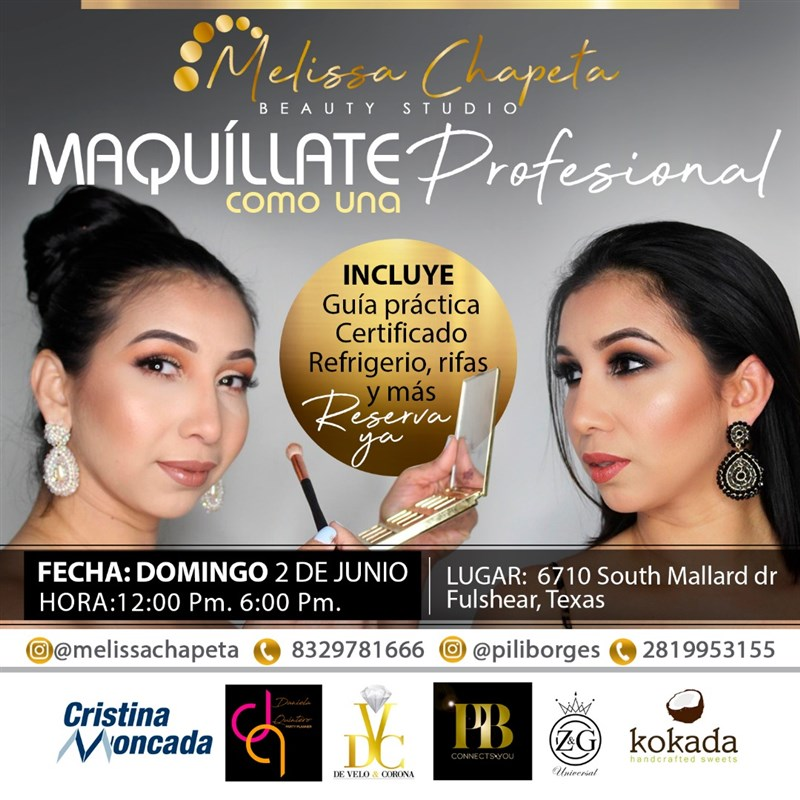Get Information and buy tickets to Maquíllate como una profesional Reserva $50 on www.click-event.com