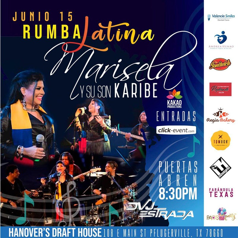 Get Information and buy tickets to Rumba Latina Reg $25 on www.click-event.com