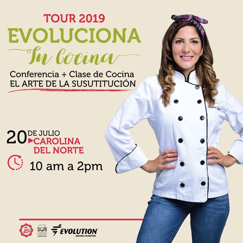 Get Information and buy tickets to Evoluciona Tu Cocina - Joha Clavel - Carolina del Norte Reg $90 - Preventa $85 on www.click-event.com