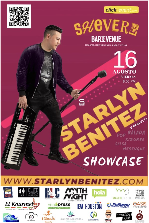 """Get Information and buy tickets to Starlyn Benitez en Concierto """"ShowCase"""" Reg $20 on www.click-event.com"""