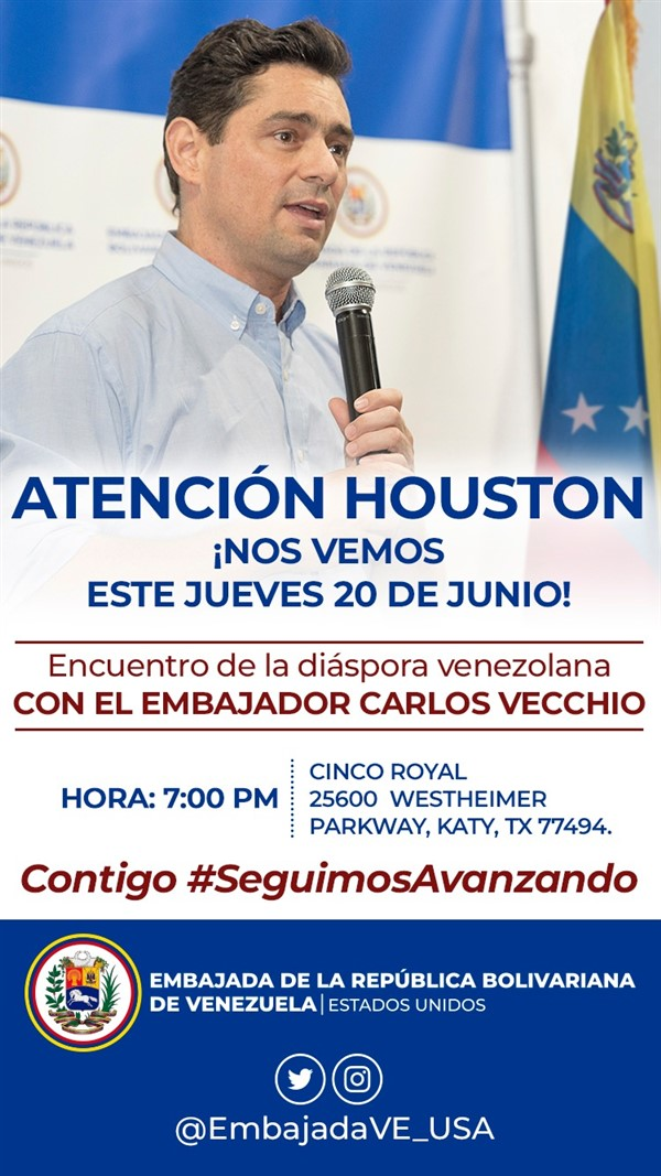 Get Information and buy tickets to Encuentro con Carlos Vecchio RSVP on www.click-event.com