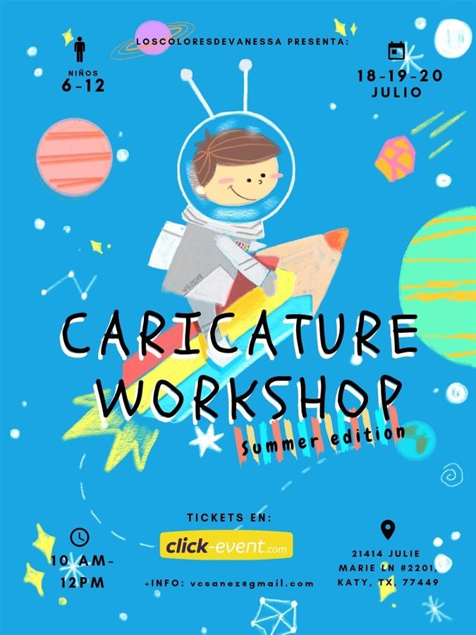 Caricature Workshop - Summer Edition