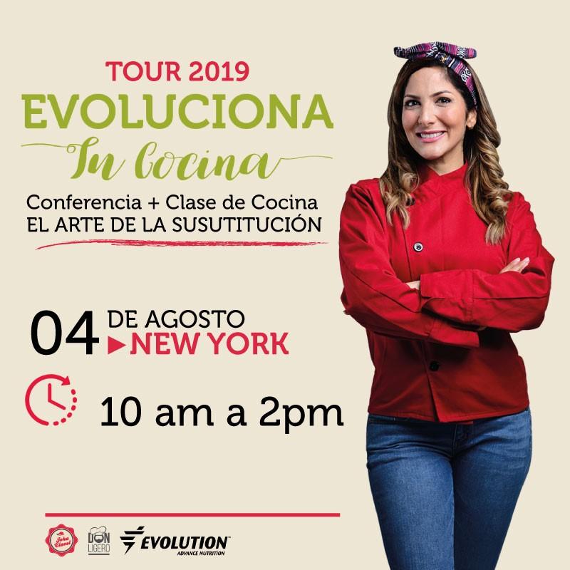 Get Information and buy tickets to Evoluciona Tu Cocina - Joha Clavel - New York Preventa $85 - Reg $100 on www.click-event.com