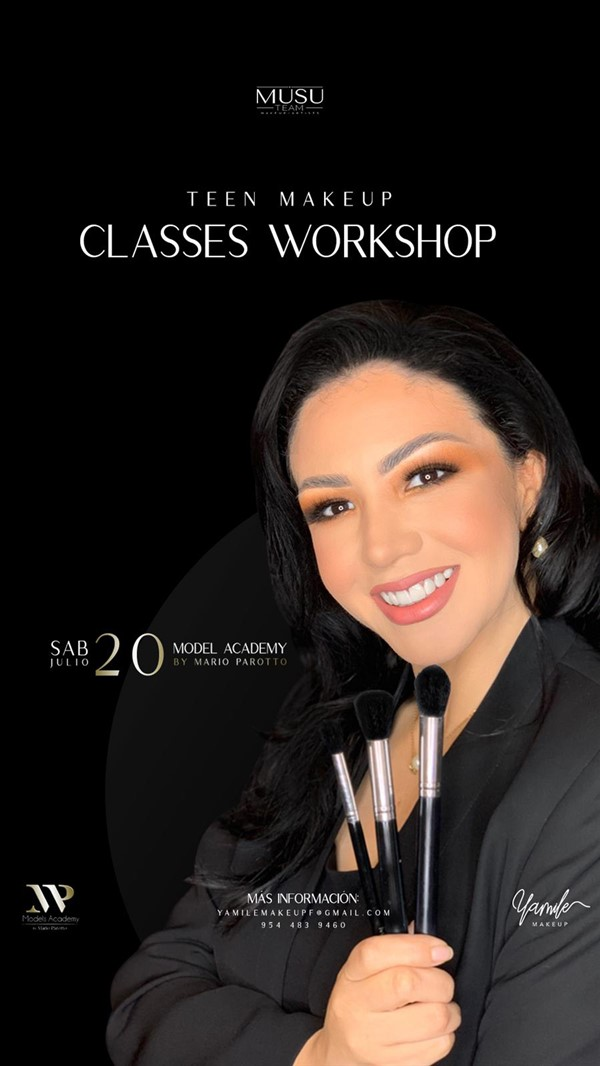 Get Information and buy tickets to Teen Makeup - Classes Workshop Reg $100 - Reg + Obsequio $150 on www.click-event.com
