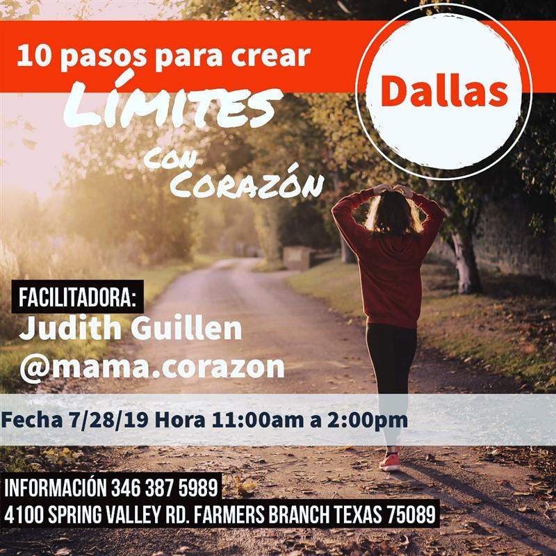 Get Information and buy tickets to 10 Pasos para Crear Límites con Corazón - Dallas Reg $30 on www.click-event.com