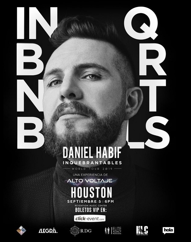 Get Information and buy tickets to Daniel Habif - Inquebrantables - World Tour 2019 Vip & Box on www.click-event.com