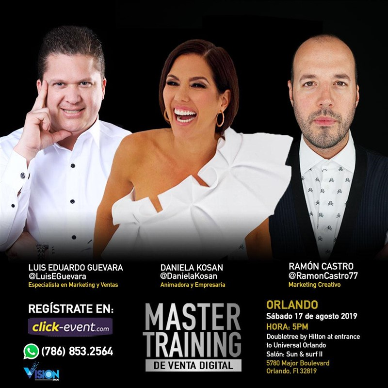 Get Information and buy tickets to Master Training de Venta Digital RSVP (Limitado) Reg $20 on www.click-event.com