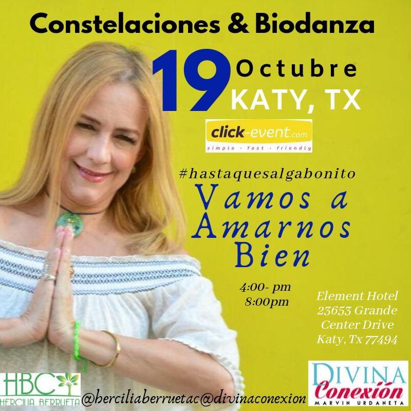 Get Information and buy tickets to Vamos a Amarnos Bien - Constelaciones y Biodanza Reg $50 on www.click-event.com
