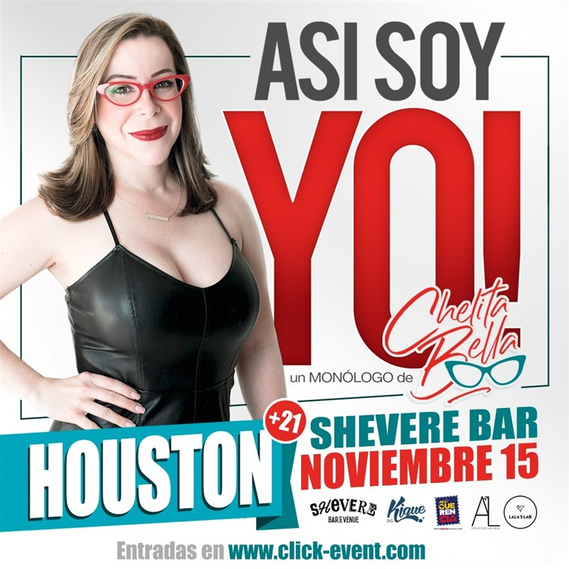 Get Information and buy tickets to Asi Soy Yo - Chelita Bella - Katy TX Reg 2 $20, Reg 1 $25 - Vip 35 on www.click-event.com