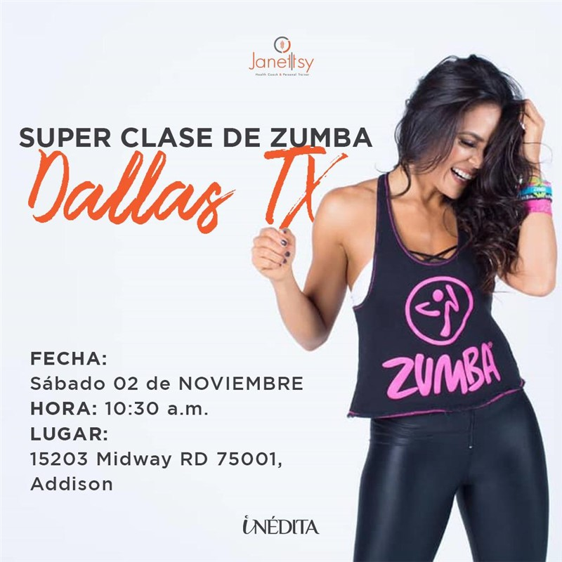Get Information and buy tickets to Super Clase de Zumba  on www.click-event.com
