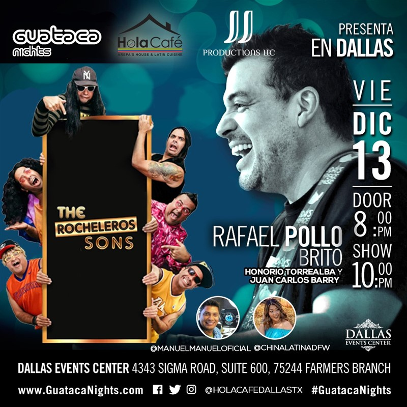 Get Information and buy tickets to Pollo Brito - Gaitero - Dallas TX Reg $35, Vip $50 on www.click-event.com