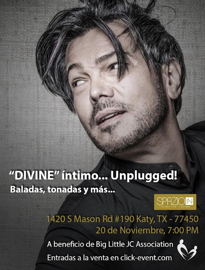 Get Information and buy tickets to Divine Intimo Unplugged - Katy TX Reg $60 on www.click-event.com