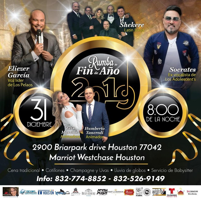 Get Information and buy tickets to Rumba de Fin de Año 2019 Entrada $75 - $105 on www.click-event.com