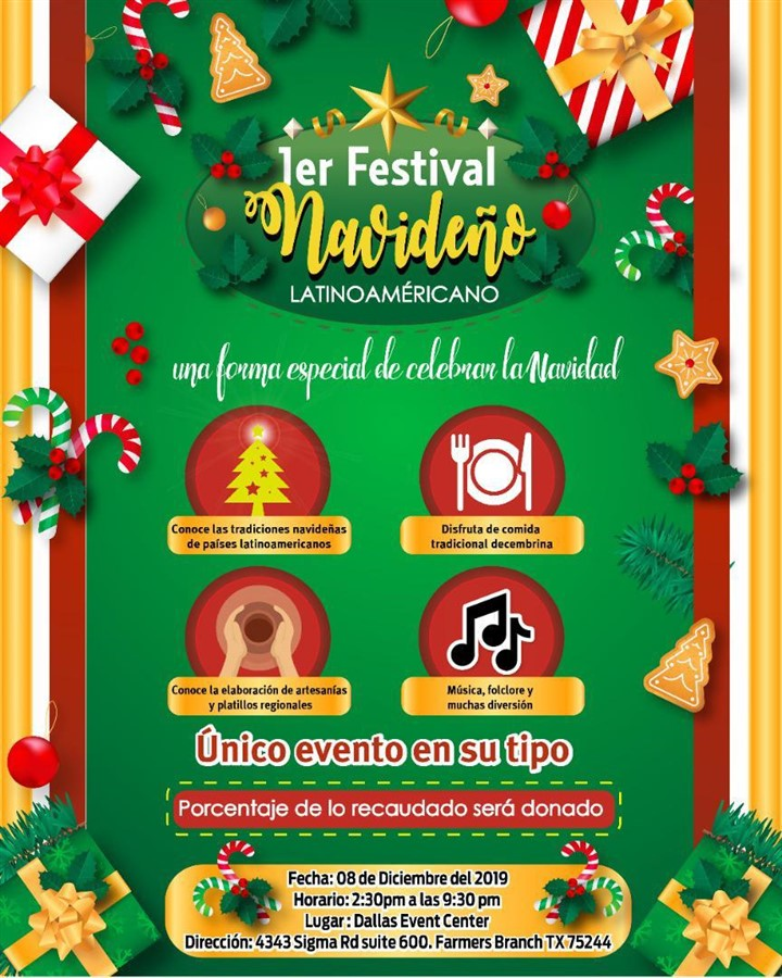 Get Information and buy tickets to 1er Festival Navideño LatinoAmericano Reg $5 on www.click-event.com