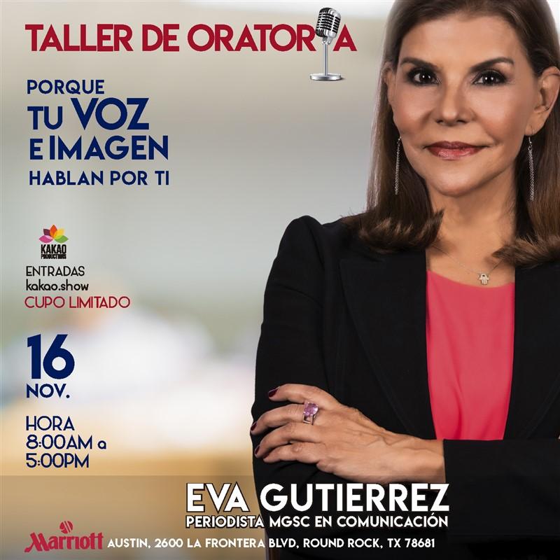Get Information and buy tickets to Taller de Oratoria e Imagen - Austin TX Reg $150 on www.click-event.com