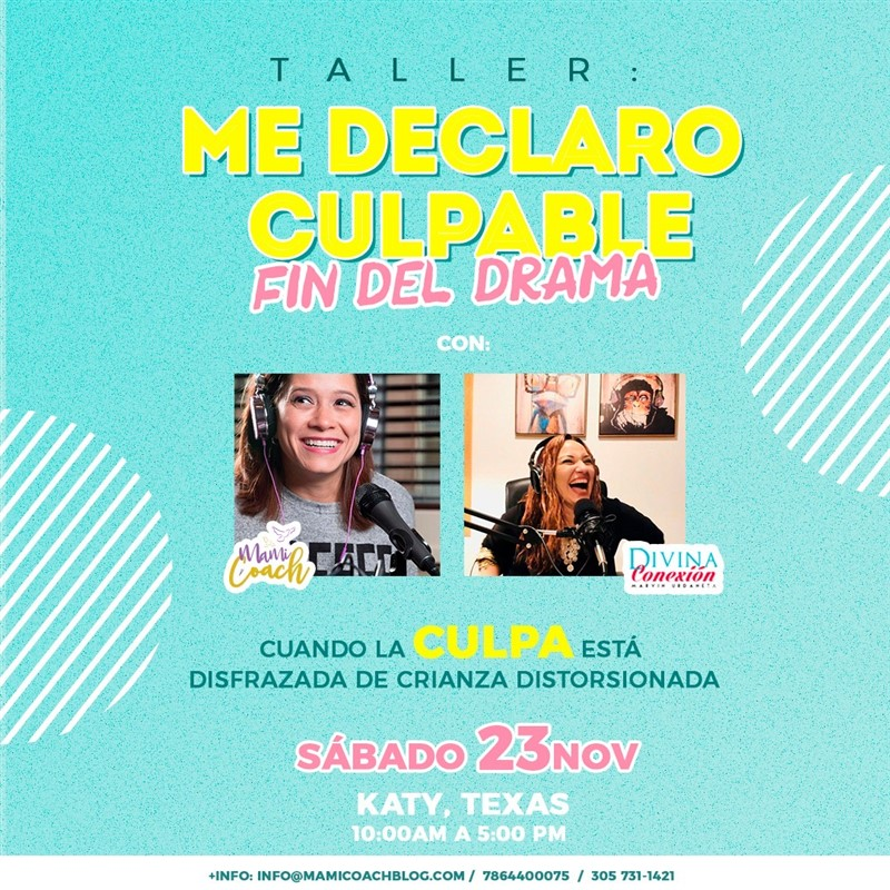Get Information and buy tickets to Me declaro Culpable - El fin del drama Reg $97 on www.click-event.com