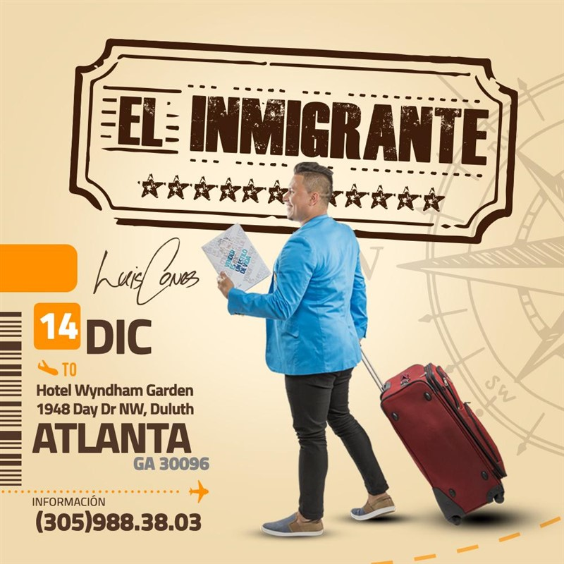 Get Information and buy tickets to Conferencia El Inmigrante Reg $40 on www.click-event.com