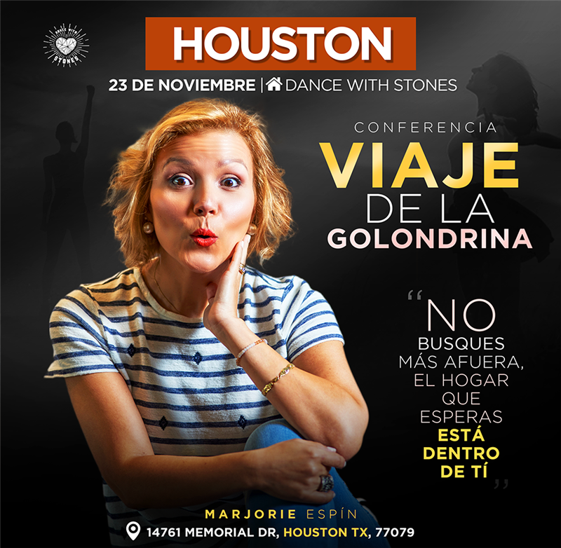 Get Information and buy tickets to Viaje de la Golondrina - Marjorie Espin - Houston TX Reg $25 on www.click-event.com
