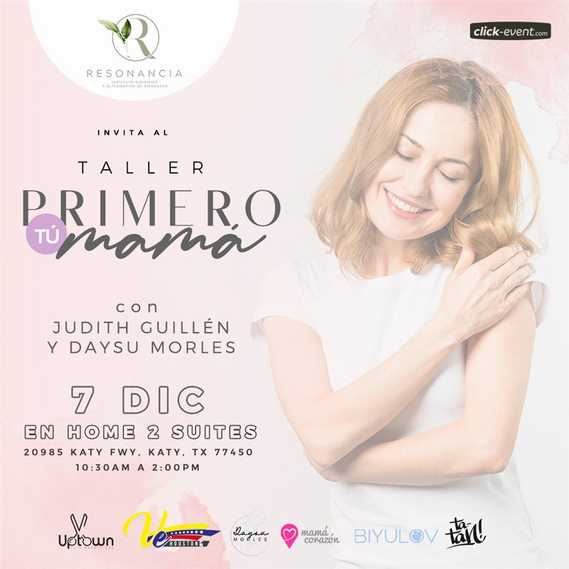 Get Information and buy tickets to Primero tú mamá Reg $35 on www.click-event.com