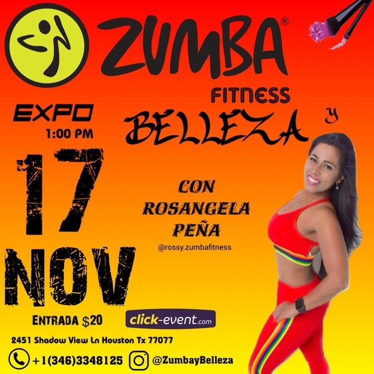 Get Information and buy tickets to Zumba y belleza con Rosangela Peña Reg $20 on www.click-event.com