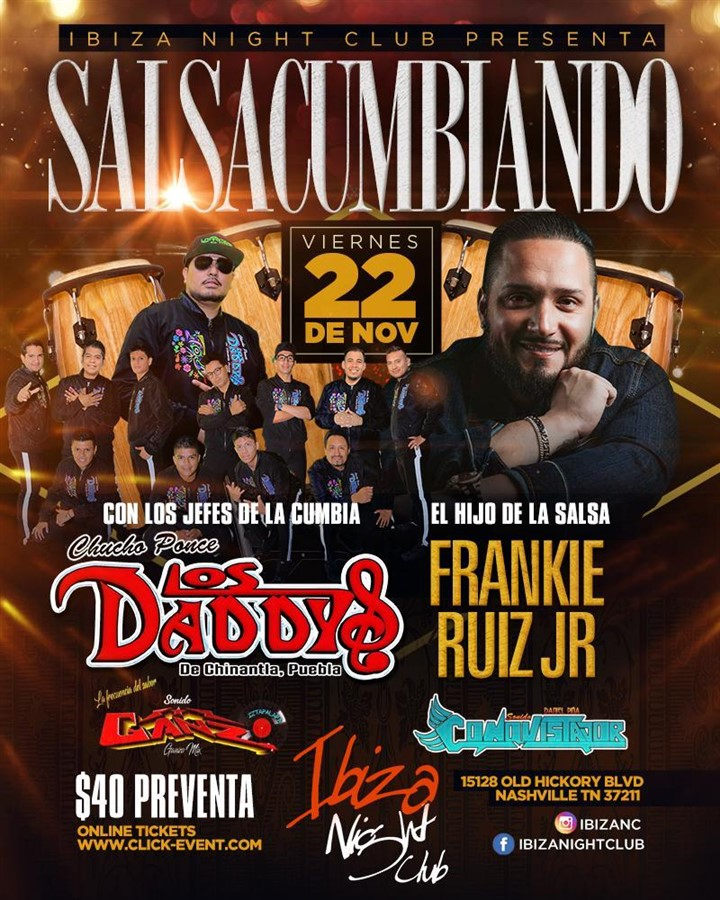 Get Information and buy tickets to SALSACUMBIANDO Preventa Reg $40 on www.click-event.com