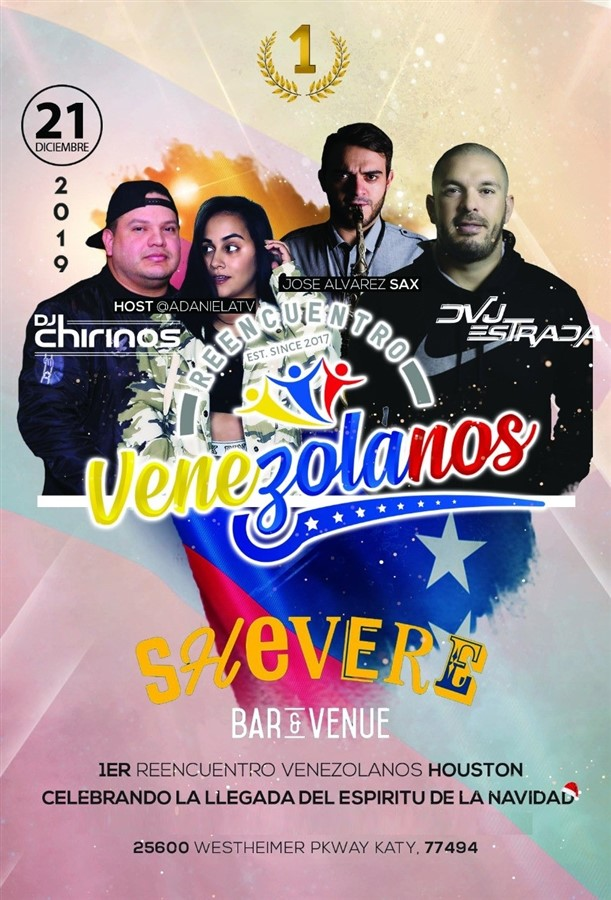 Get Information and buy tickets to 1er Reencuentro Venezolano Houston 2019 Reg $15 on www.click-event.com