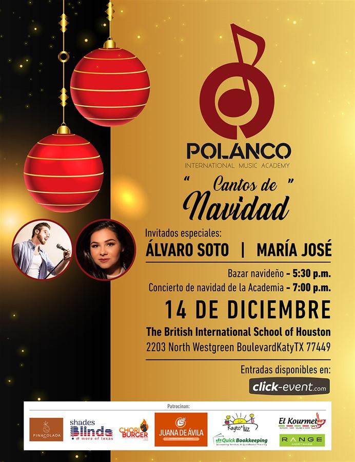 Get Information and buy tickets to Cantos de Navidad, invitados Álvaro Soto y María José Reg $10 on www.click-event.com